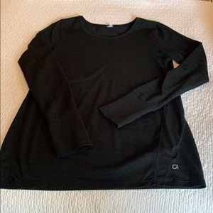 Maternity exercise top